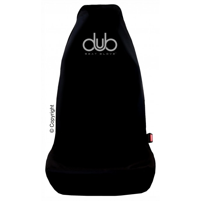 DUB SEAT GLOVE water resistant Protective Seat Cover in Black Fits most VOLKSWAGEN CADDY vehicles Top Quality!